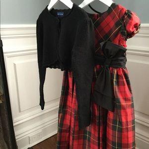 Ralph Lauren Holiday Dress, Sweater, Headband